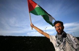 Filistin için İsveç'ten yola çıkan aktiviste...