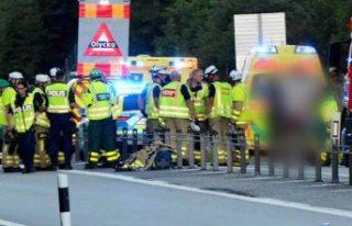 İsveç'te meydana gelen feci kazada 1 ölü...
