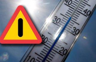 İsveç'te perşembe günü rekor sıcak bekleniyor