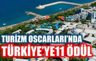 'Turizm Oscarları'nda Türkiye'ye...