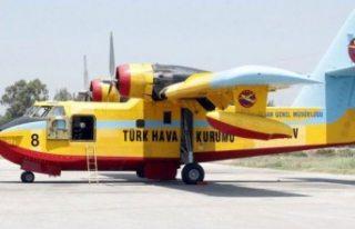 Türk yangın söndürme uçağının İsveç'e...
