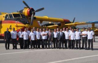 Türkiye İsveç'e yangın söndürme uçakları...