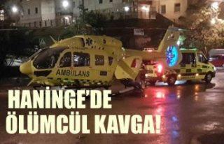 Haninge'de çıkan kavgada bir genç öldü