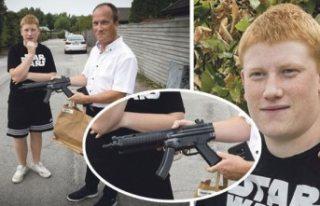 İsveç polisi elinde oyuncak silah bulunan otistik...