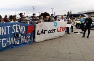 İsveç'te Afgan göçmenlere destek