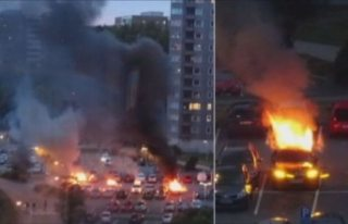 İsveç'te araç kundaklayan bir şüpheli Türkiye'de...