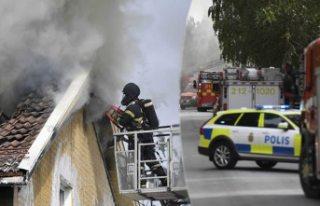 Umeå'da büyük yangın