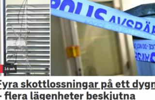 Malmö'de 24 saatte 3 ayrı ev kurşunlandı