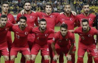Milli Takım'ın İsveç maçı aday kadrosu...