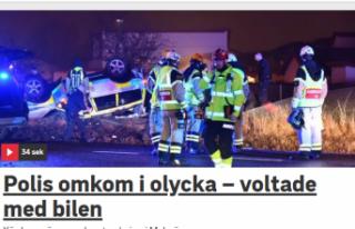 İsveç'te bir polis öldü, bir polis ağır...