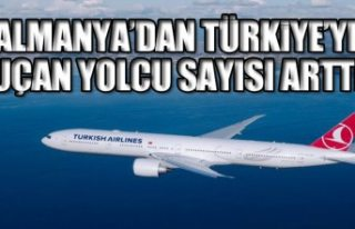 Almanya'dan Türkiye'ye uçan yolcu sayısı arttı