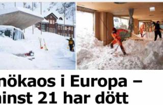Avrupa'yı dondurucu soğuk esir aldı