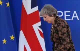 İngiliz parlamentosu May'in Brexit anlaşmasını...