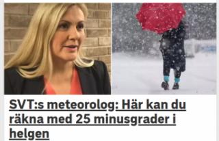 İsveç hafta sonu donacak