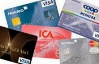 İsveç'te 100 bin kişi kredi kartı üzerinden...