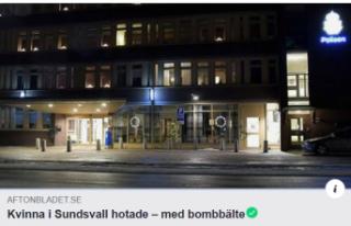 İsveç'te bir kadın polisleri havaya uçurmakla...