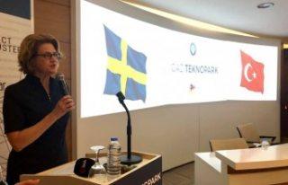 Gazi Üniversitesinde 'İsveç Teknoloji Günü'...
