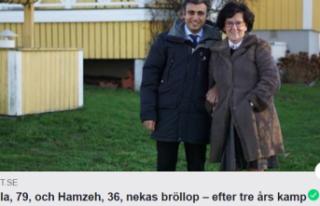 İsveç'te 79 yaşındaki Ulla ile 36 yaşındaki...