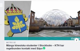 İsveç'te Çinli öğrenciler için casusluk...