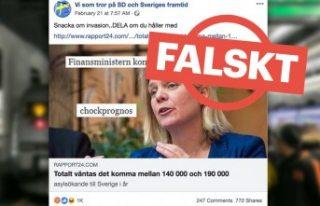 İsveç'te ırkçılardan yalan haber propagandası