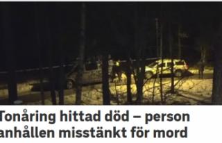 Stockholm'de bir genç ölü bulundu