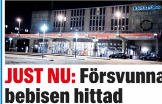 Stockholm'de hastaneden kaçırılan çocuk bulundu