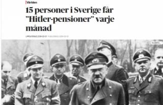 İsveç'ten 15 kişi her ay Hitler maaşı aldığı...