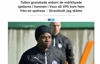 Finlandiya'da siyahi futbolculara 'ırkçı'...