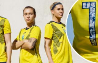 İsveç formasına FIFA'dan yasak!