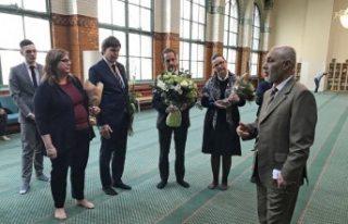 İsveç Meclis Başkanından Stockholm Camisi'ne...