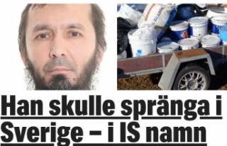 İsveç'te terör saldırısı planlayan DAEŞ'liye...