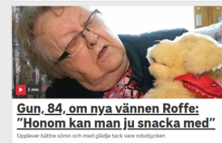 İsveç'te yalnızlığa robot kedi ve köpekli...