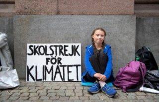 Küresel iklim hareketinin 16 yaşındaki İsveçli...