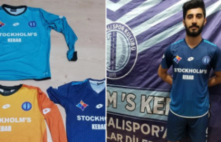 Tavşançalı Spor'a İsveç'ten destek