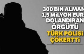 Türk polisi çökertti