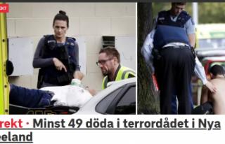 Yeni Zelanda'da 2 camiye ırkçı silahlı saldırı...