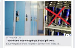 İsveç'in o okulunda öğrencilerin enerji içeceği...