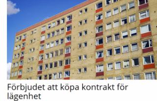 İsveç'te kiralık ev anlaşmasını satan ve...