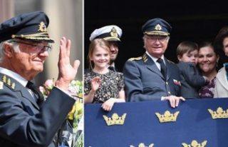 İsveç kralı 16. Karl Gustav 73. yaş gününü...