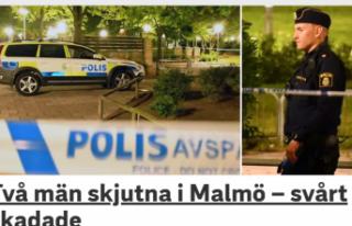 İsveç'te çatışma iki kişi yaralı