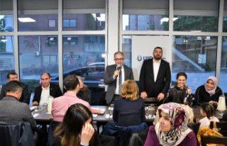 UID İsveç Teşkilatından Stockholm'de iftar