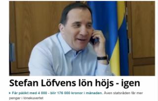 İsveç Başbakanı Löfven'in maaşına zam...