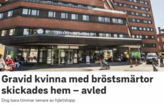 İsveç'te eve gönderilen hamile kadın kalp...