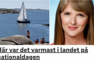 İsveç'te rekor sıcaklık