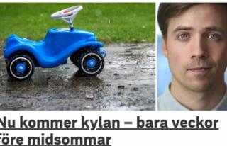 İsveç'te soğuklar geri dönüyor
