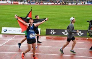 İsveçli aktivistler Filistinli atlete destek verdi