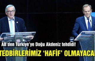 Juncker: Türkiye'ye karşı alacağımız tedbirler...