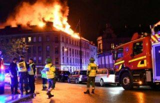 Malmö'de korkutan yangın