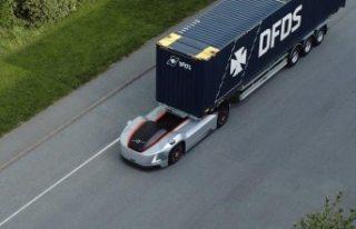 Volvo'nun elektrikli ve otonom çekicisi İsveç'te...