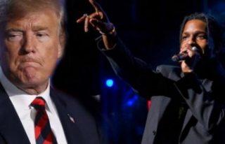 ABD'li rap müzisyeni ASAP Rocky'nin duruşması...
